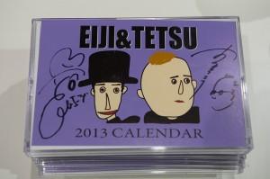 エージ&テツ2013カレンダー(サイン入り)